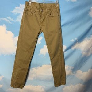 Levi's- Tan Slim Pants size 29x30